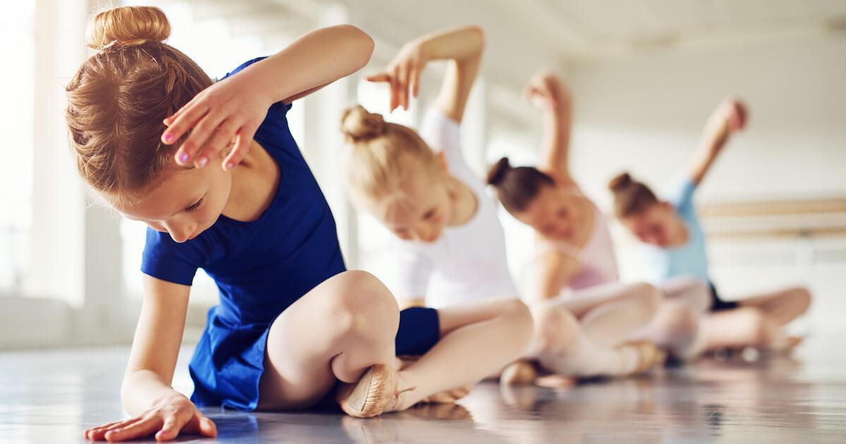 バレエで得られる身体的メリット2