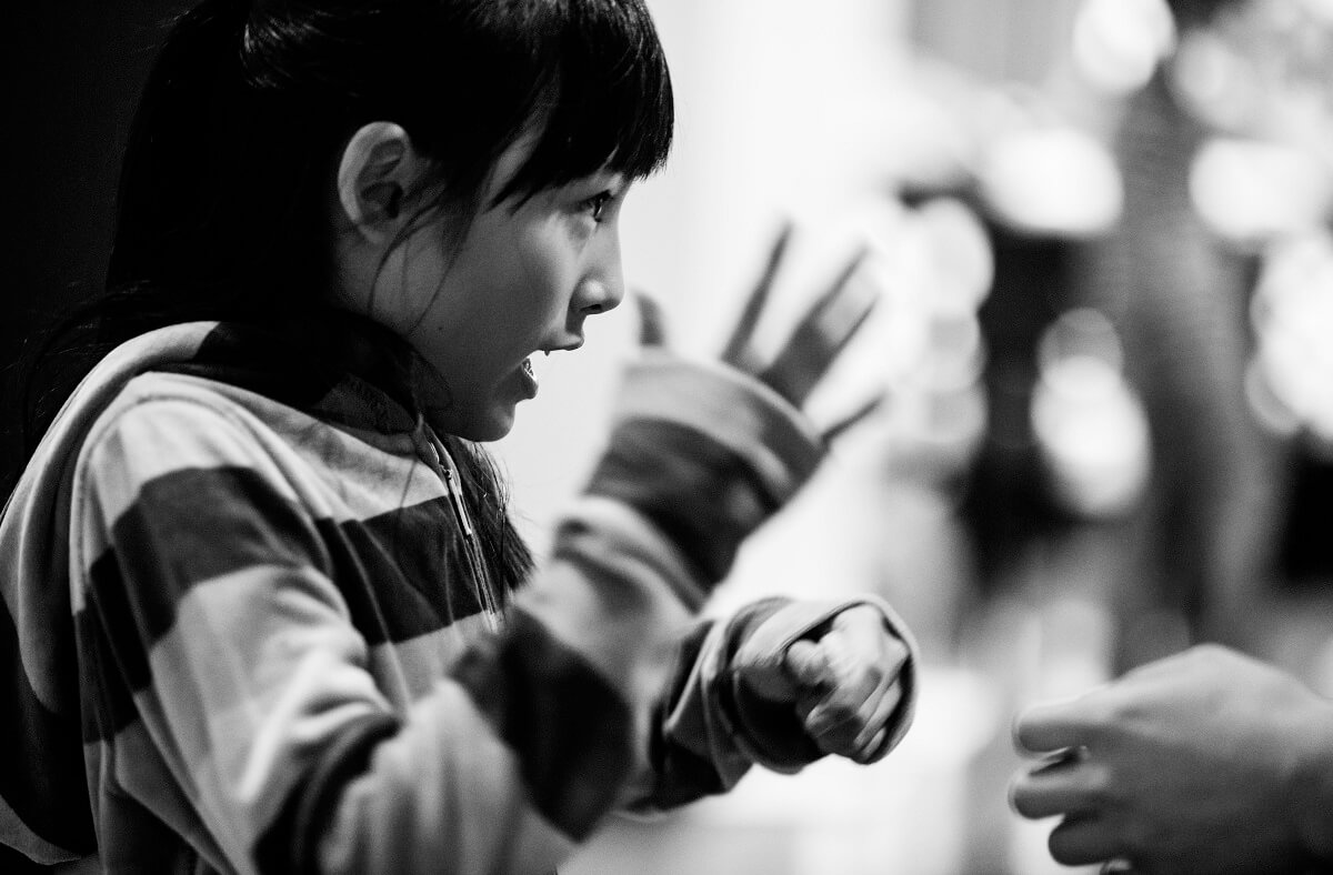 坂上忍氏が指導する子ども