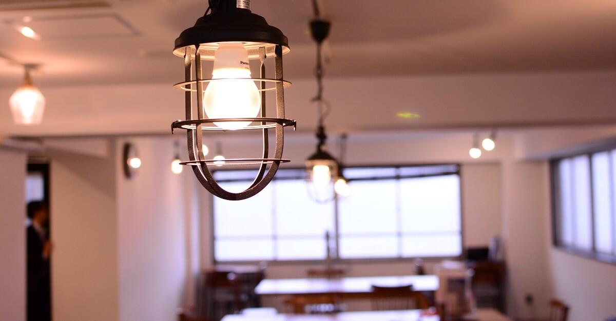 ENGLISH COMPANYスタジオの照明